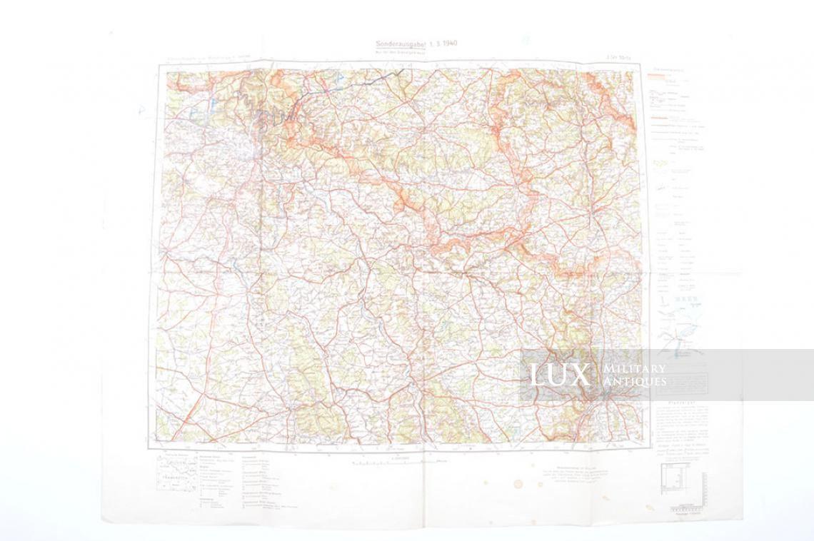 Map Of France 1940.Military Map Sonderausgabe France Metz 1940