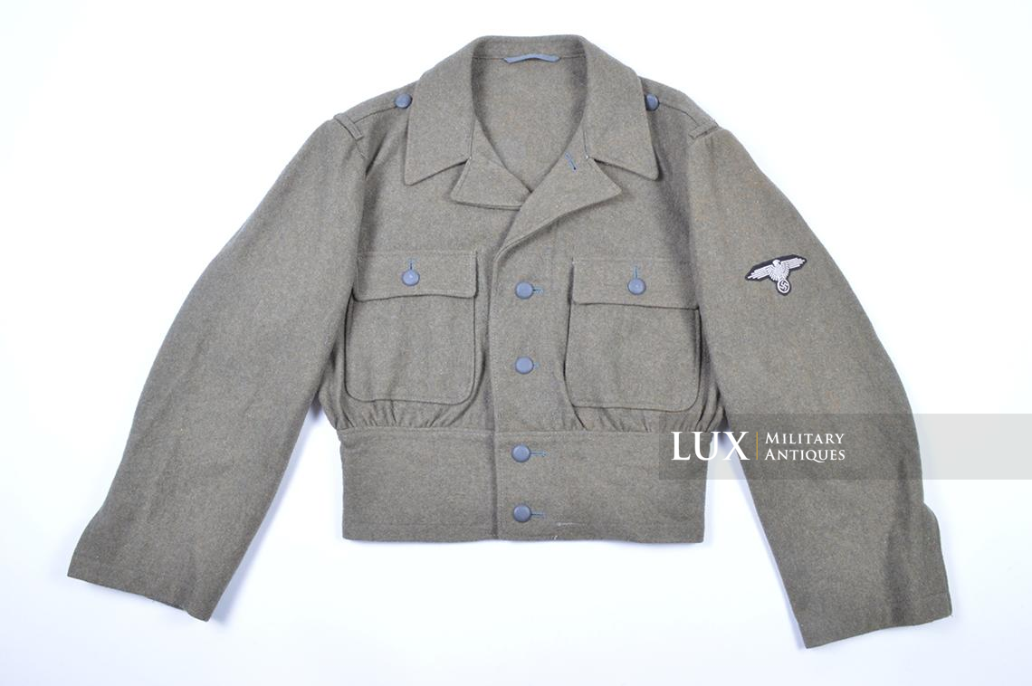 Rare M44 Waffen-SS field blouse, « Betr.Ra » - photo 4