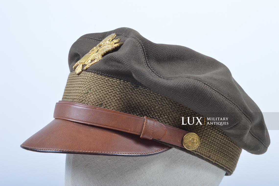 USAAF 50 missions crusher cap, « Luxenberg » - photo 4