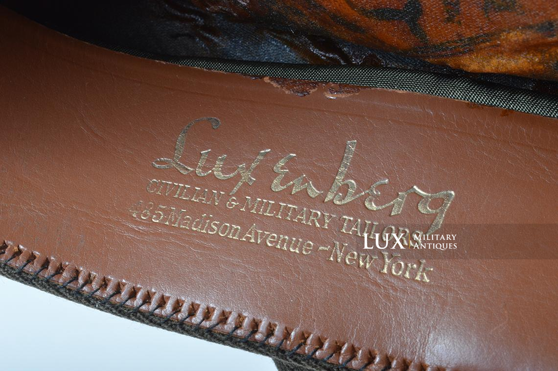 USAAF 50 missions crusher cap, « Luxenberg » - photo 19