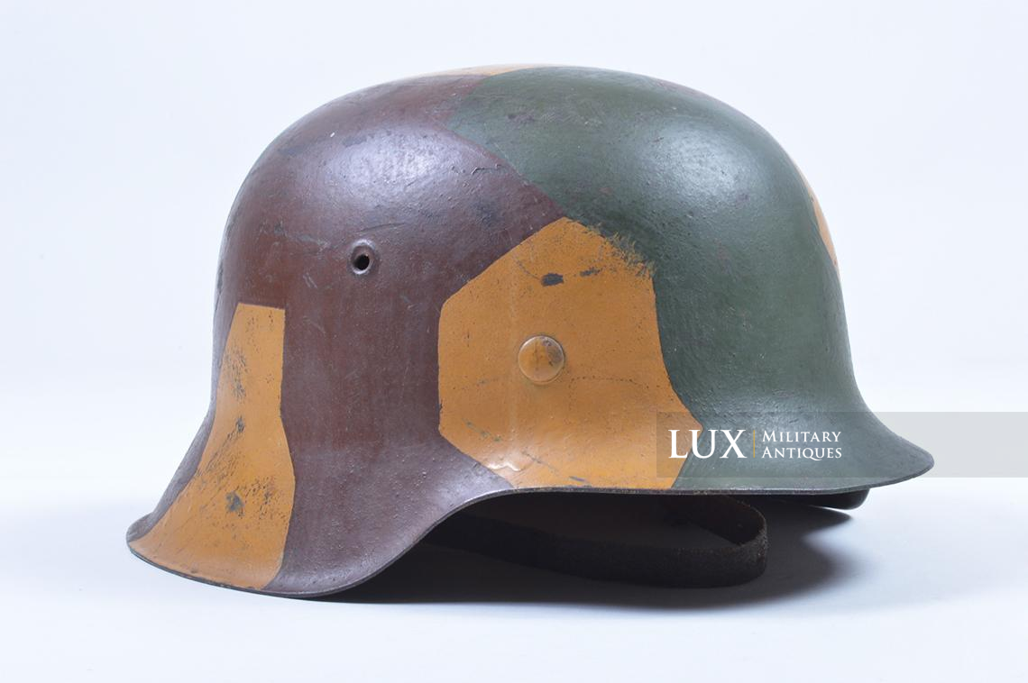 M42 German coastal artillery helmet, geometric camouflage pattern - photo 10