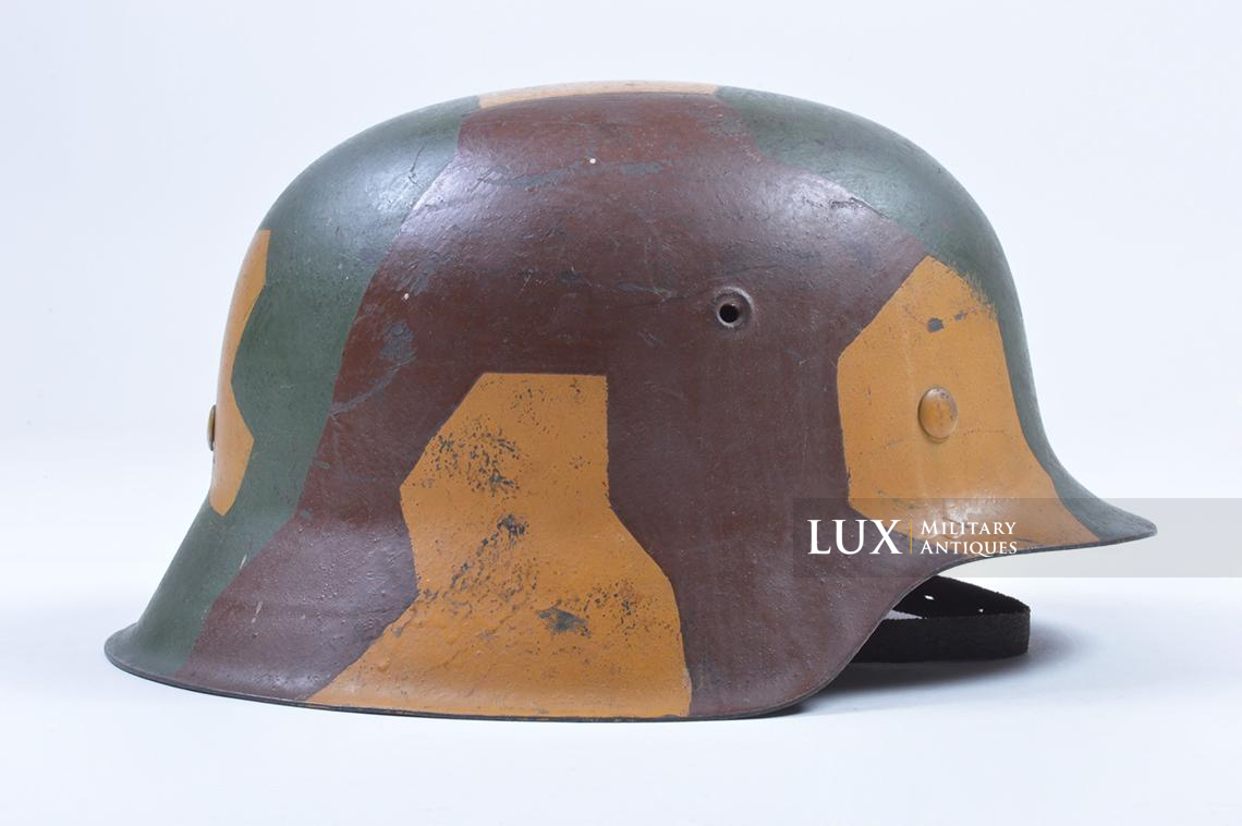 M42 German coastal artillery helmet, geometric camouflage pattern - photo 11