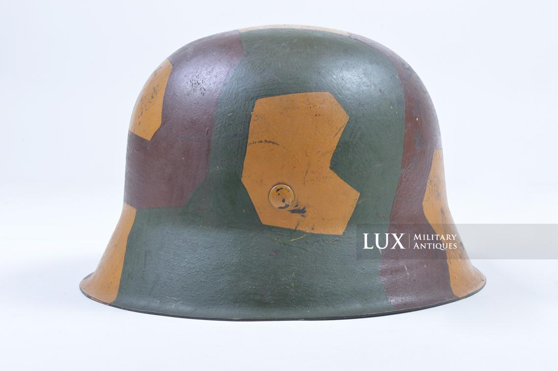 M42 German coastal artillery helmet, geometric camouflage pattern - photo 13