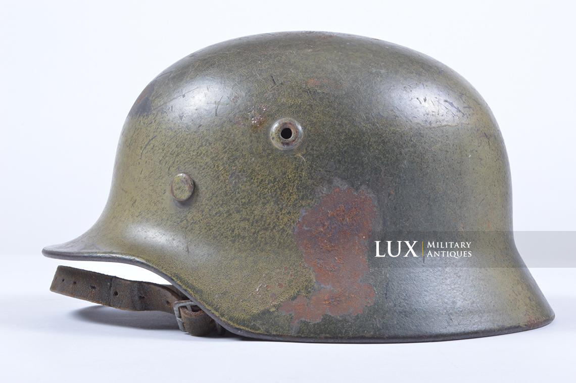 M40 Luftwaffe two-tone camouflage helmet - photo 4