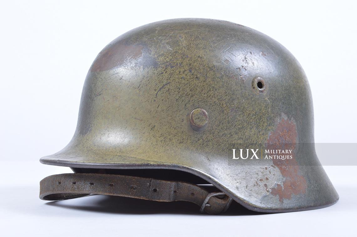 M40 Luftwaffe two-tone camouflage helmet - photo 8