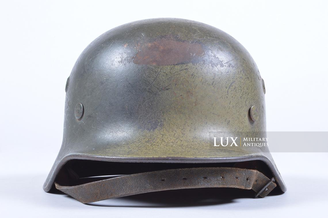 M40 Luftwaffe two-tone camouflage helmet - photo 9