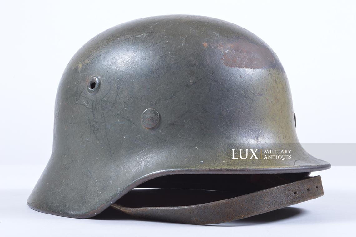 M40 Luftwaffe two-tone camouflage helmet - photo 10