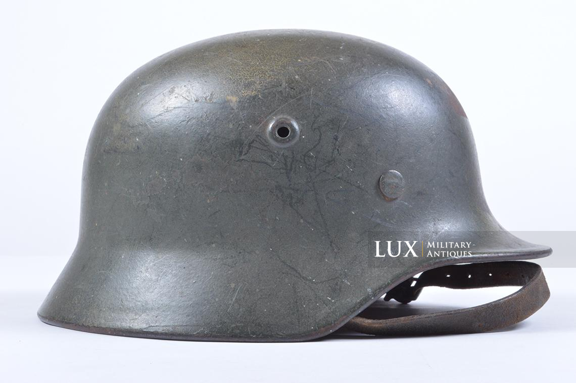 M40 Luftwaffe two-tone camouflage helmet - photo 11