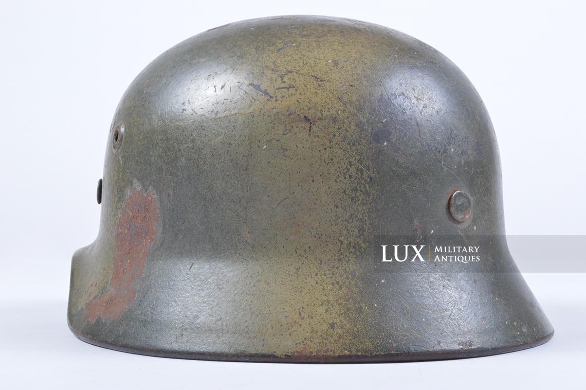 M40 Luftwaffe two-tone camouflage helmet - photo 14