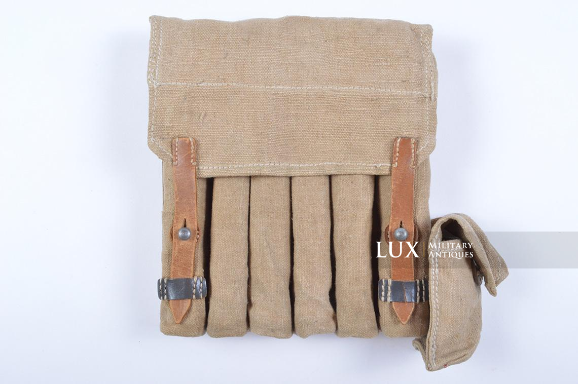 Rare unissued German late-war MP38/40 six-cell pouch, « eyp4 » - photo 4