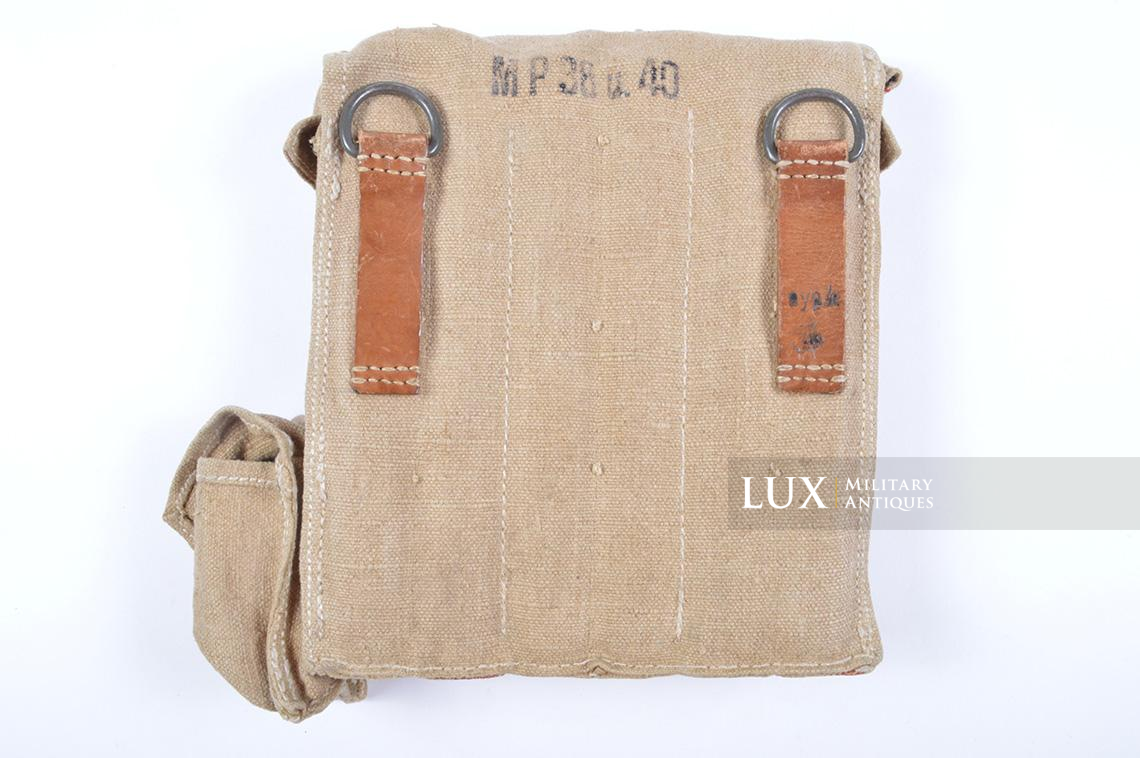 Rare unissued German late-war MP38/40 six-cell pouch, « eyp4 » - photo 8