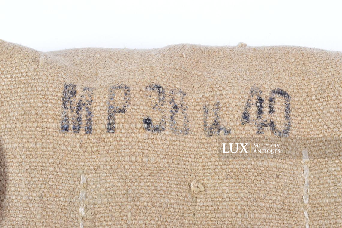 Rare unissued German late-war MP38/40 six-cell pouch, « eyp4 » - photo 16