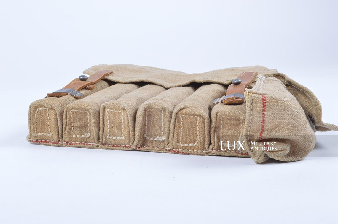 Rare unissued German late-war MP38/40 six-cell pouch, « eyp4 » - photo 10