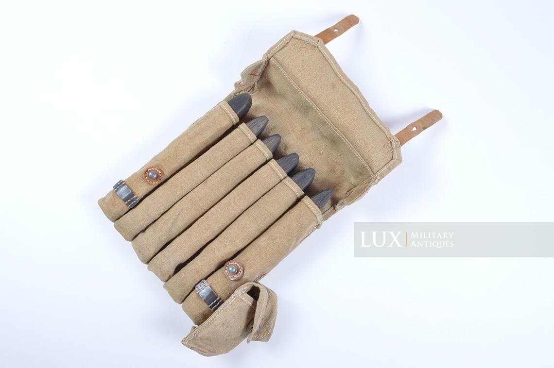 Rare unissued German late-war MP38/40 six-cell pouch, « eyp4 » - photo 28