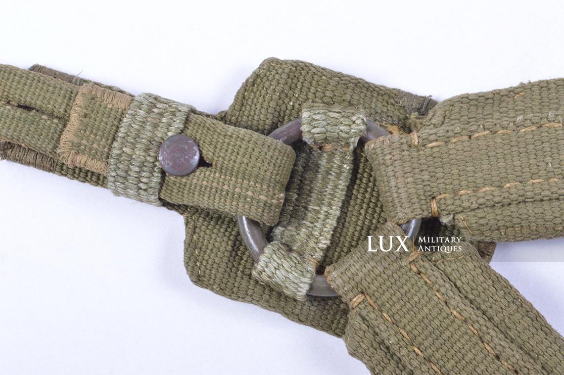 Early German « DAK » webbing Y-straps