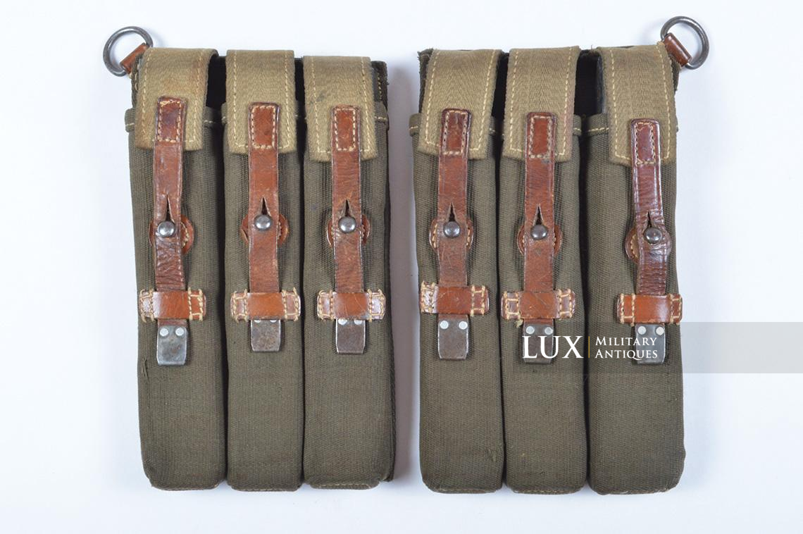 Very rare pair of early MP38/40 pouches, « dkk41 » - photo 4