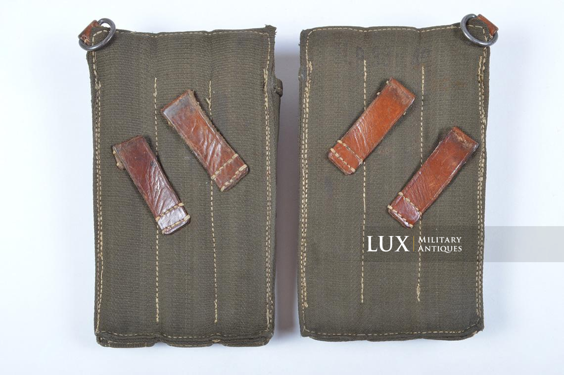 Very rare pair of early MP38/40 pouches, « dkk41 » - photo 8