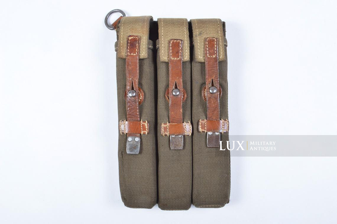 Very rare pair of early MP38/40 pouches, « dkk41 » - photo 9