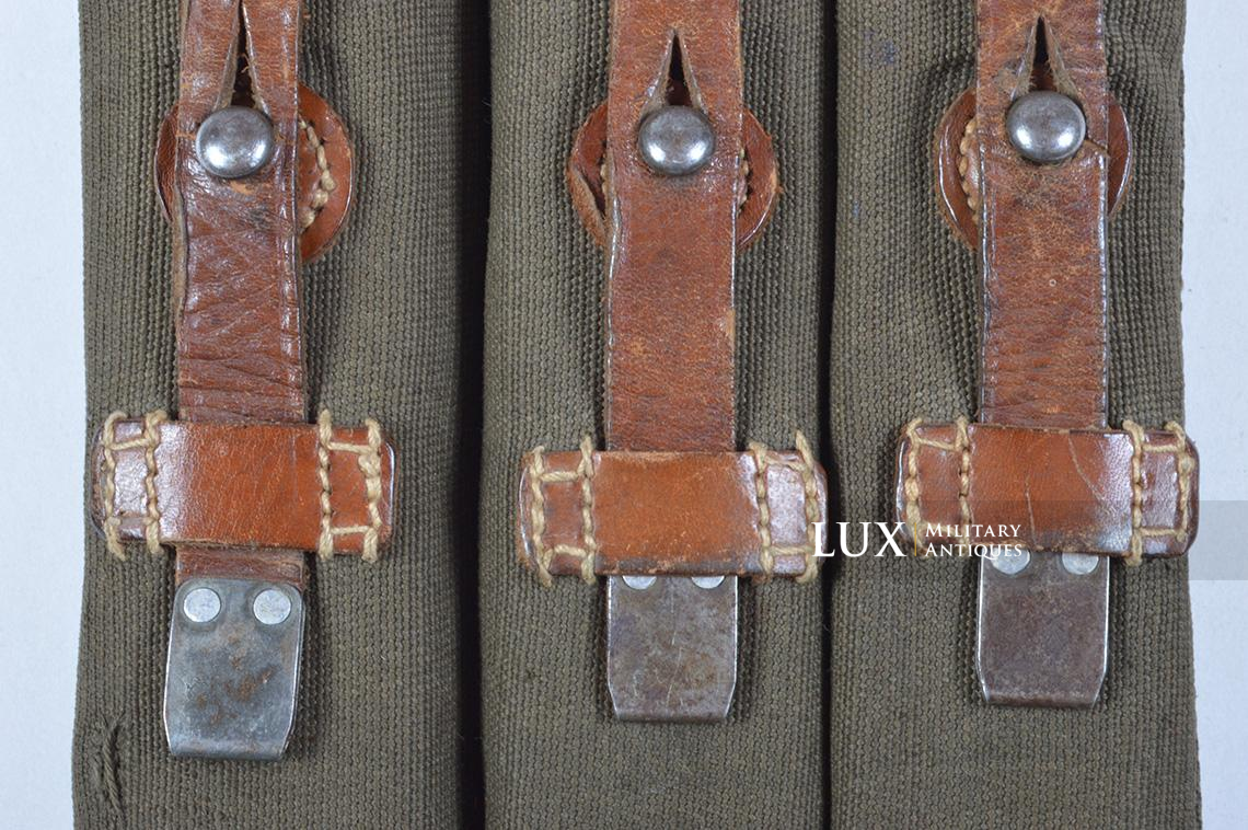 Very rare pair of early MP38/40 pouches, « dkk41 » - photo 10