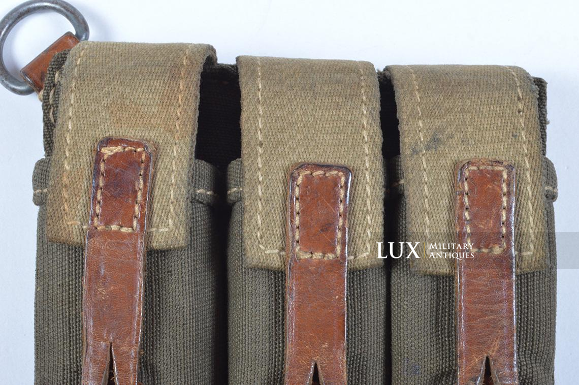 Very rare pair of early MP38/40 pouches, « dkk41 » - photo 11