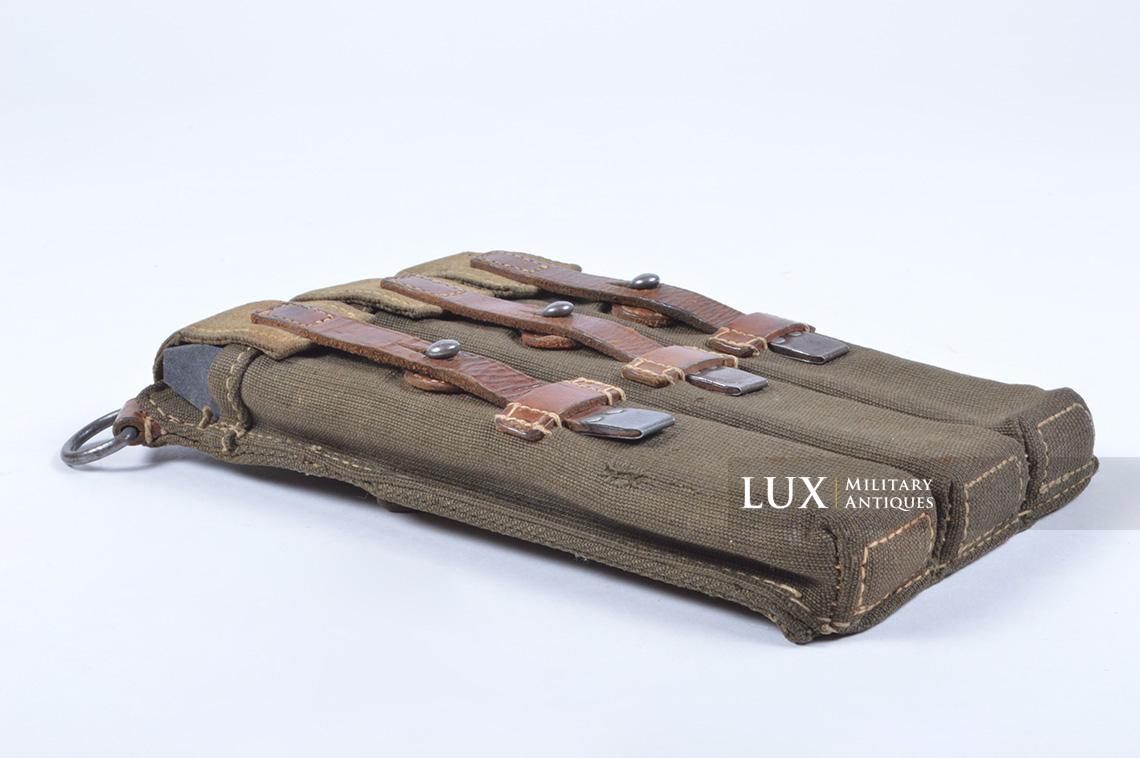 Very rare pair of early MP38/40 pouches, « dkk41 » - photo 16