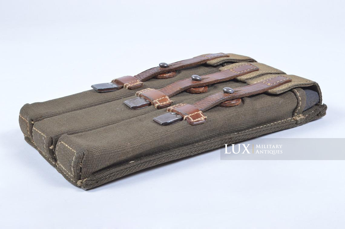 Very rare pair of early MP38/40 pouches, « dkk41 » - photo 18