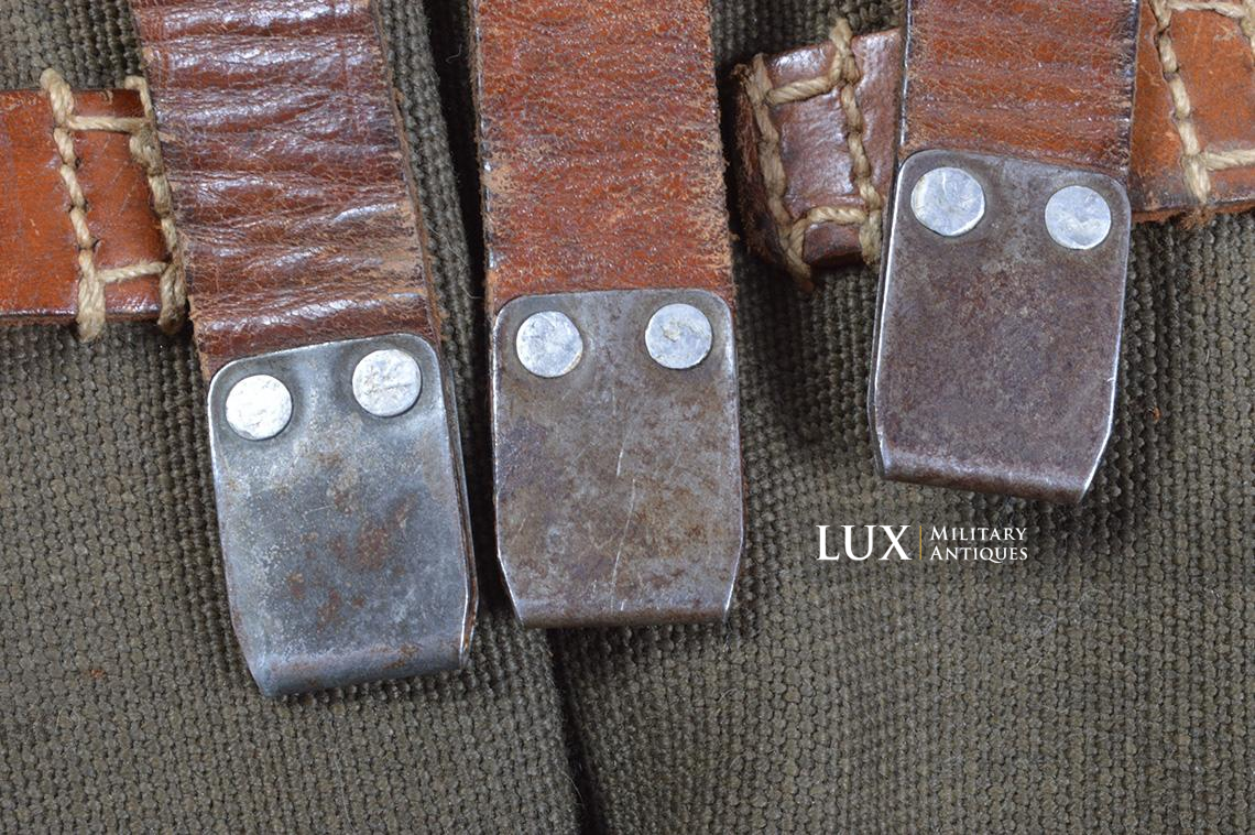 Very rare pair of early MP38/40 pouches, « dkk41 » - photo 25