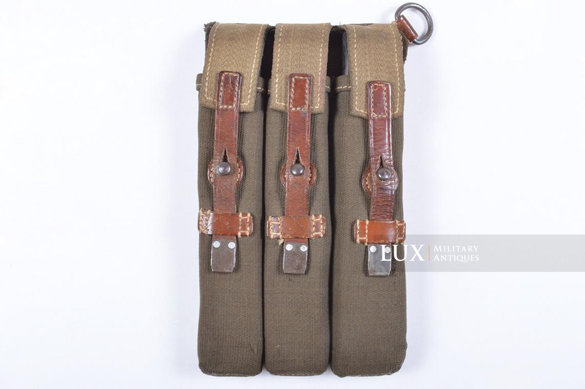 Very rare pair of early MP38/40 pouches, « dkk41 » - photo 26