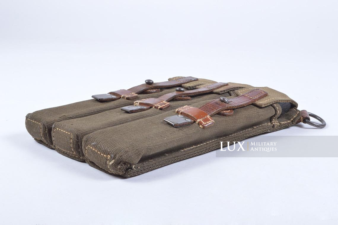 Very rare pair of early MP38/40 pouches, « dkk41 » - photo 32