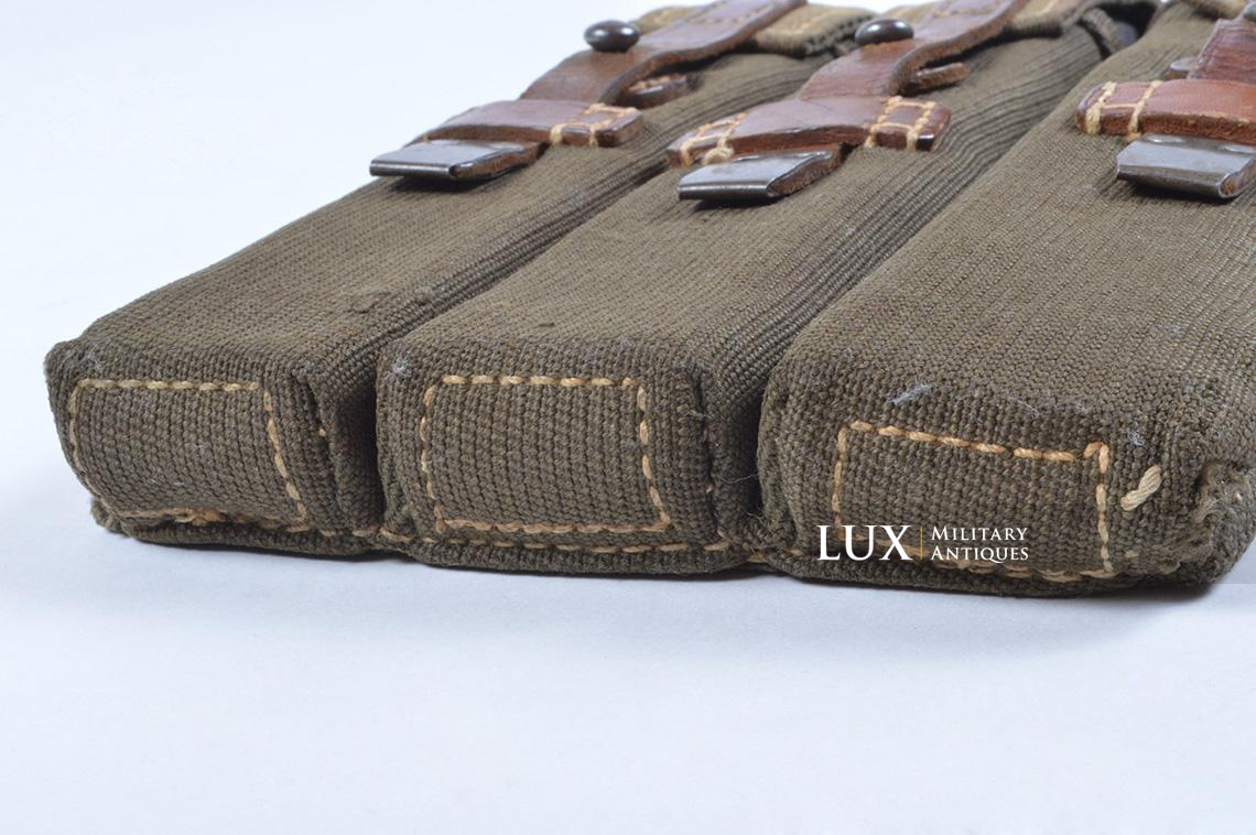 Very rare pair of early MP38/40 pouches, « dkk41 » - photo 33