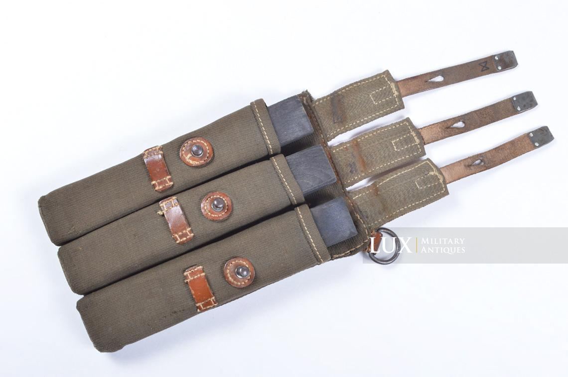 Very rare pair of early MP38/40 pouches, « dkk41 » - photo 35