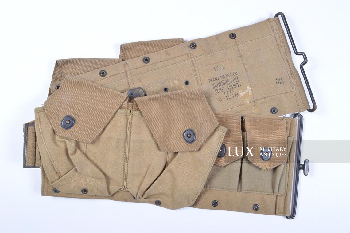 Ceinturon US M1918 BAR, « P.B.&CO. JULY 1918 » - photo 4