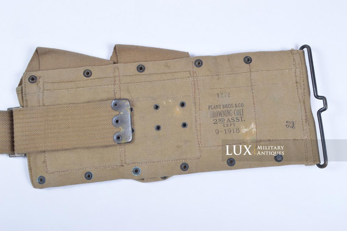 Ceinturon US M1918 BAR, « P.B.&CO. JULY 1918 » - photo 11
