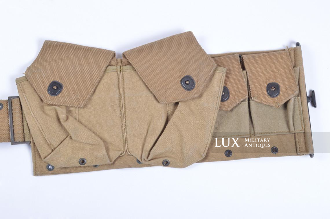 Ceinturon US M1918 BAR, « P.B.&CO. JULY 1918 » - photo 15