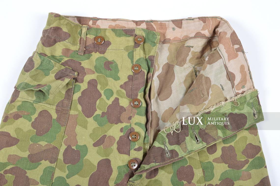 US Army issued camouflage combat trousers - photo 12