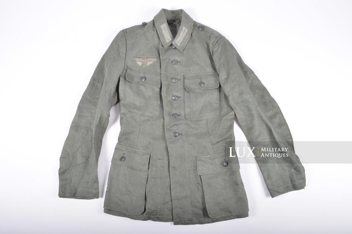 251b50763f124 Unissued Heer HBT enlisted mans summer combat tunic