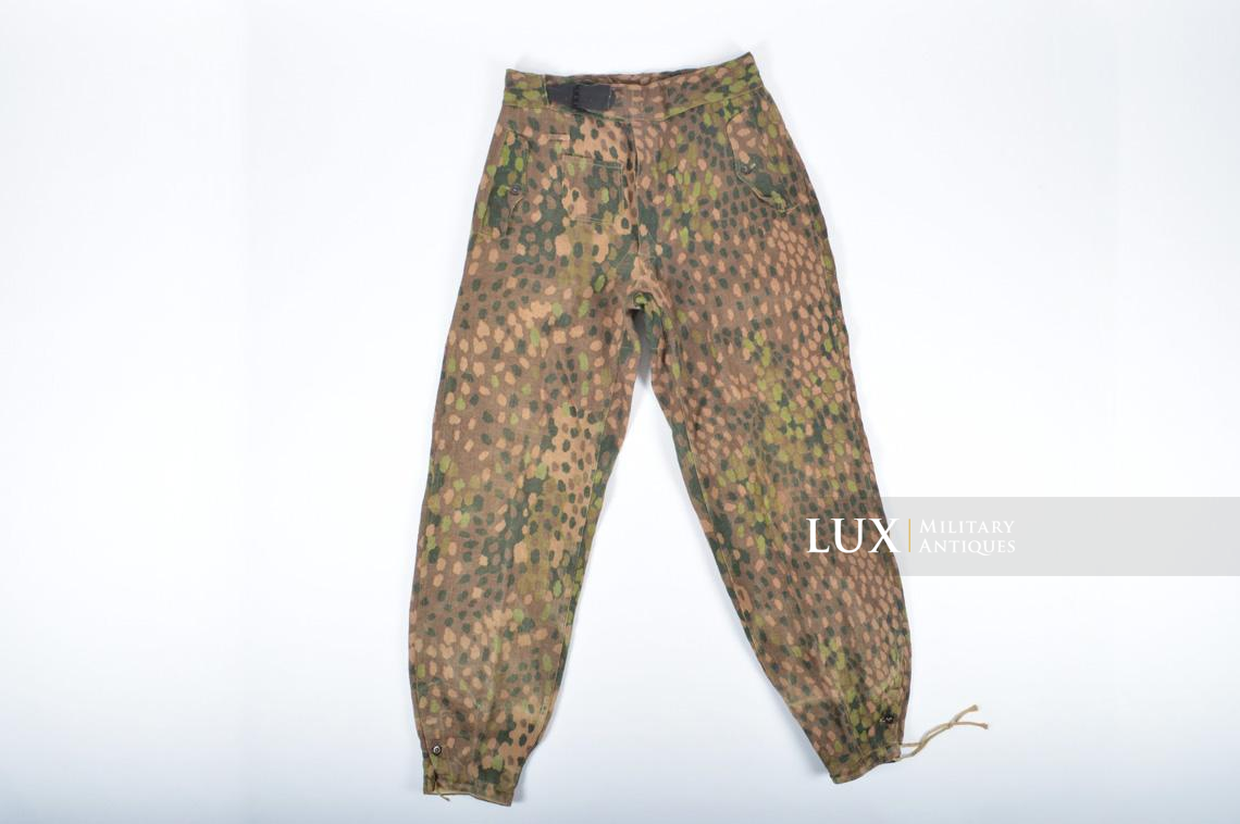 Waffen-SS dot pattern Drillich camouflage panzer trousers - photo 13
