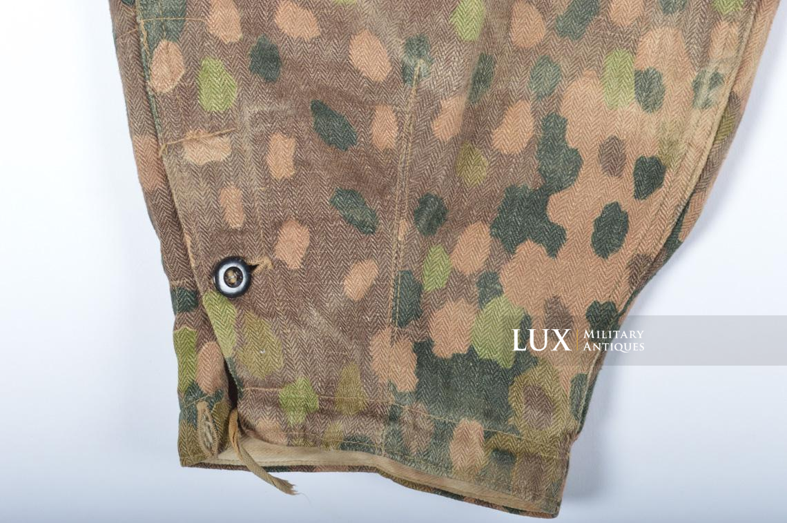 Waffen-SS dot pattern Drillich camouflage panzer trousers - photo 14