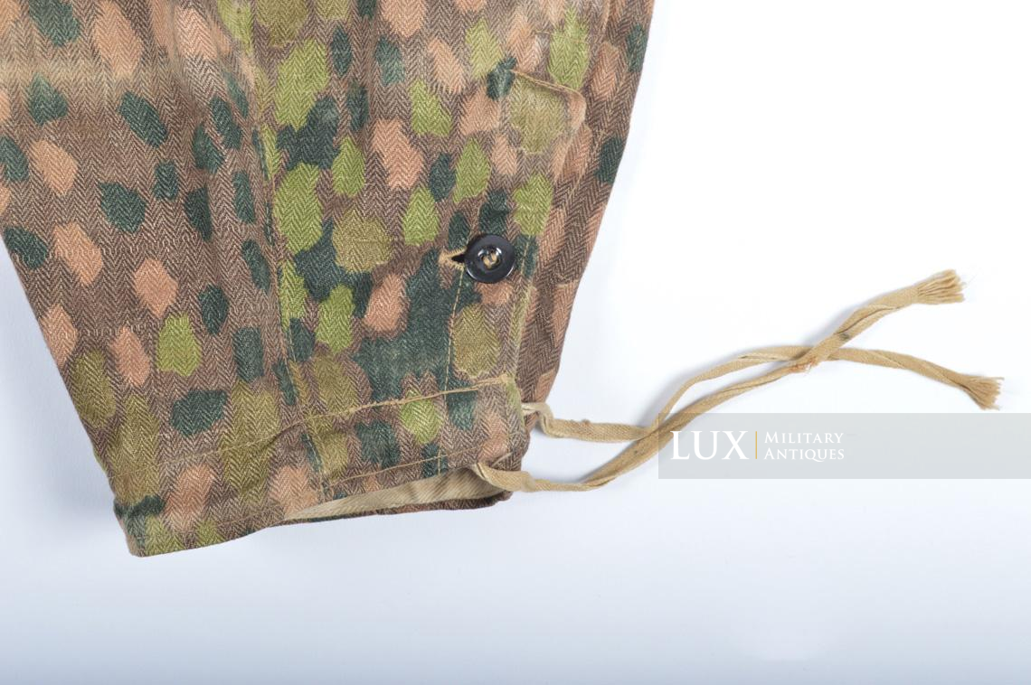 Waffen-SS dot pattern Drillich camouflage panzer trousers - photo 15