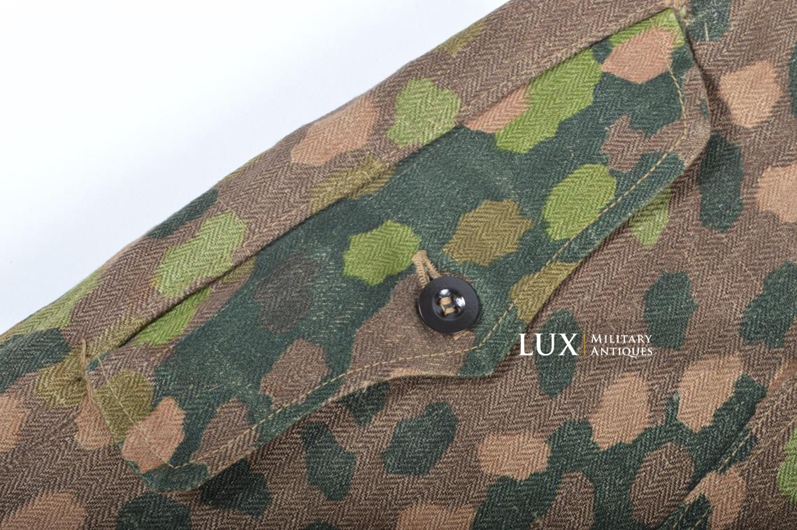 Waffen-SS dot pattern Drillich camouflage panzer trousers - photo 19