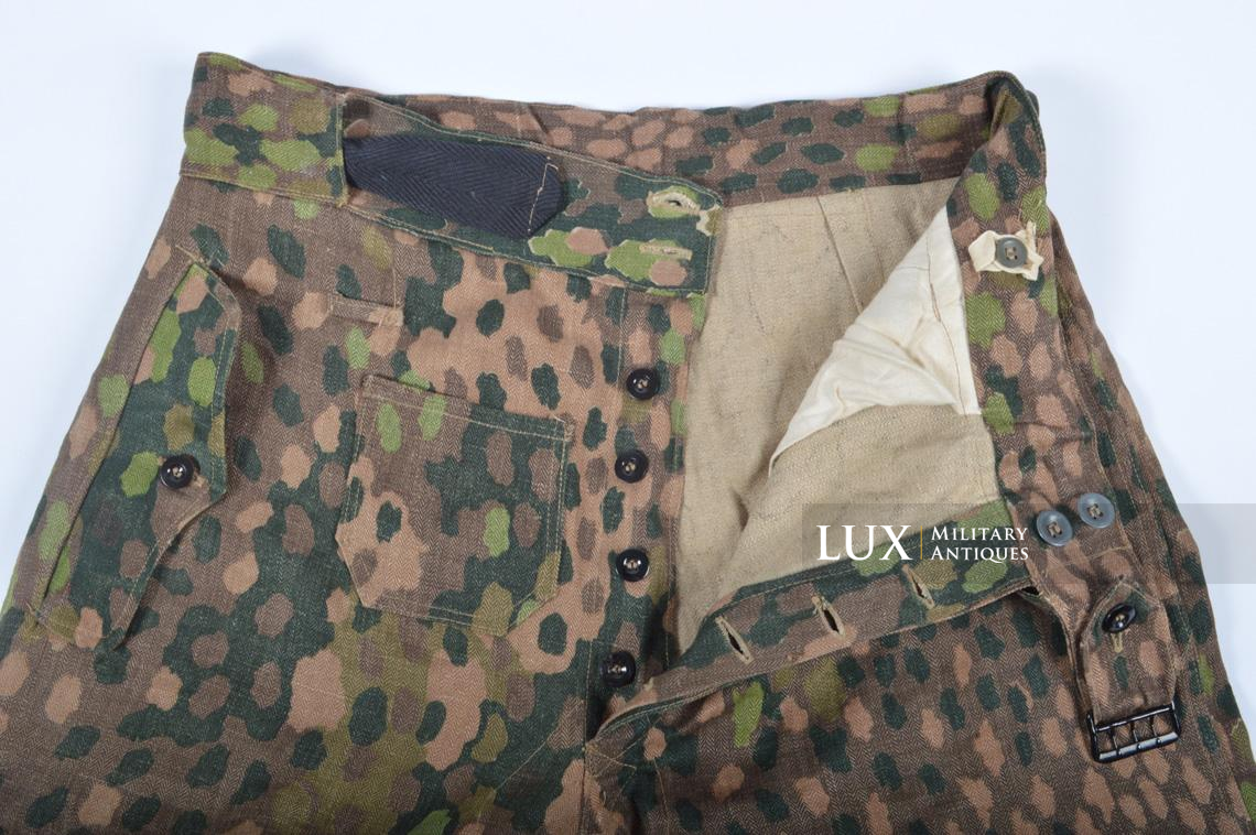 Waffen-SS dot pattern Drillich camouflage panzer trousers - photo 26