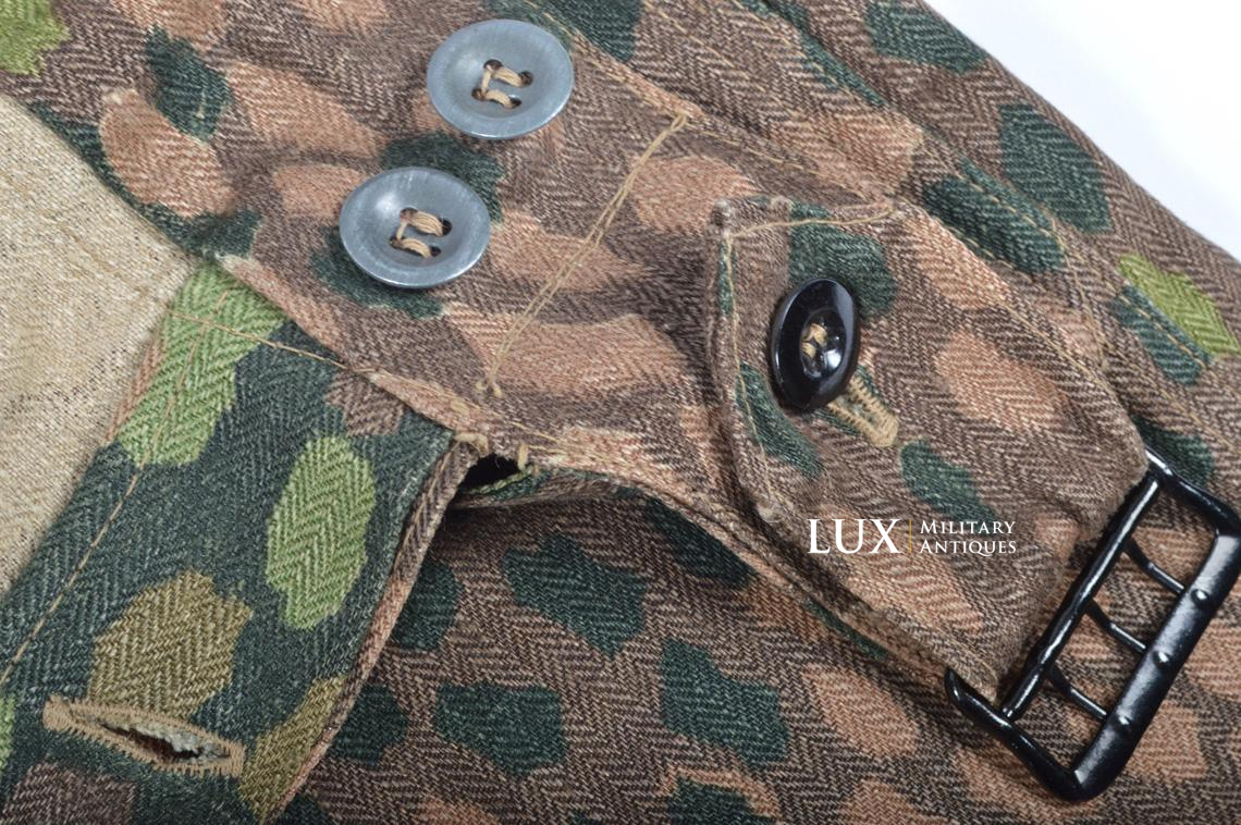 Waffen-SS dot pattern Drillich camouflage panzer trousers - photo 27