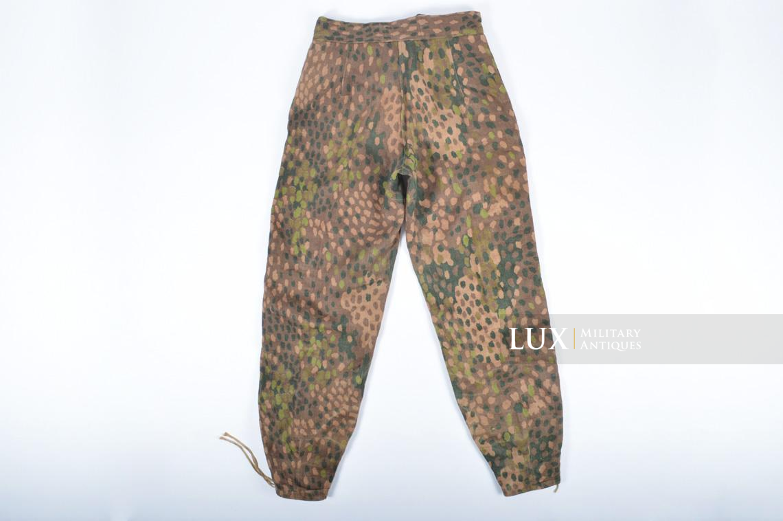 Waffen-SS dot pattern Drillich camouflage panzer trousers - photo 30