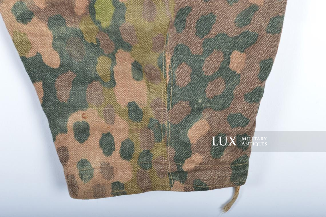 Waffen-SS dot pattern Drillich camouflage panzer trousers - photo 32