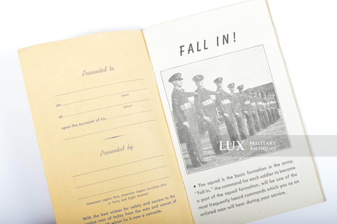 US enlistment brochure, « Fall-in / The American Legion » - photo 9