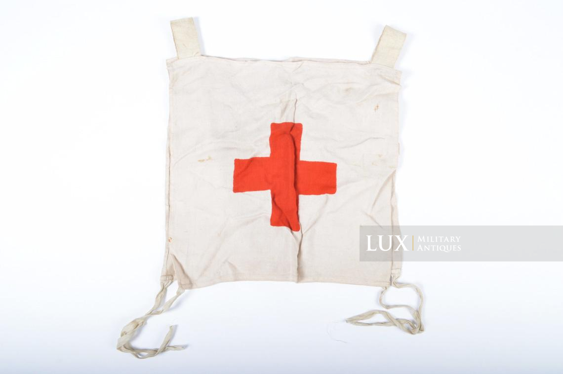 Rare German Wehrmacht issue Medic chest apron, « Medic-ID vest » - photo 4