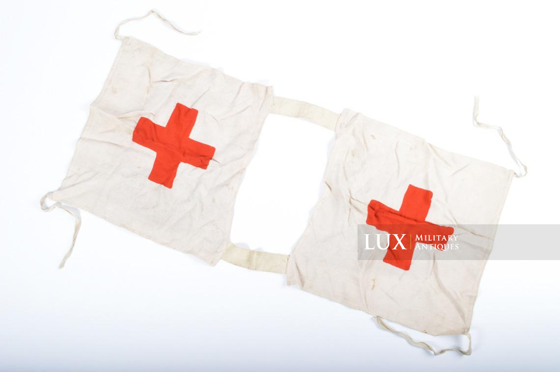 Rare German Wehrmacht issue Medic chest apron, « Medic-ID vest » - photo 15