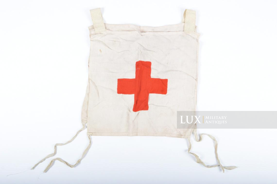 Rare German Wehrmacht issue Medic chest apron, « Medic-ID vest » - photo 20