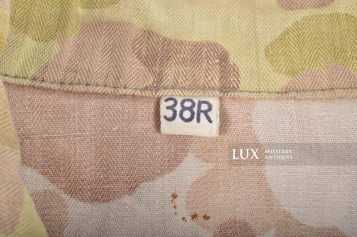 US Army « HBT » camouflage jacket, « 38R » - photo 12