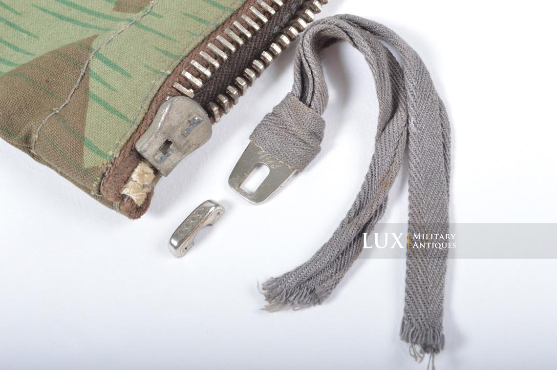 German paratrooper splinter camouflage grenade bag set - photo 35